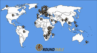Round Table International Map